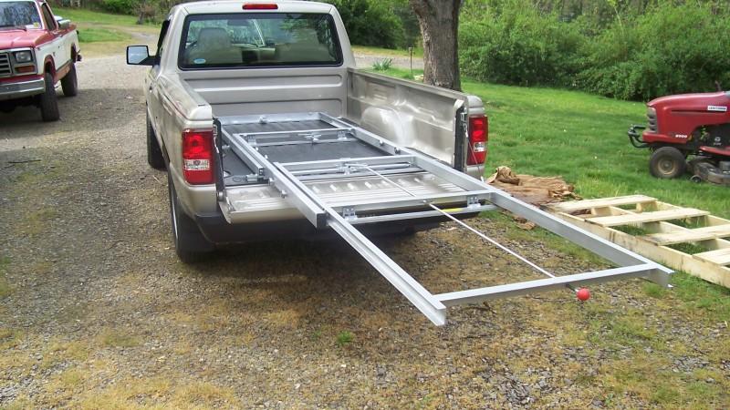 truck bed cargo slide | slidemaster